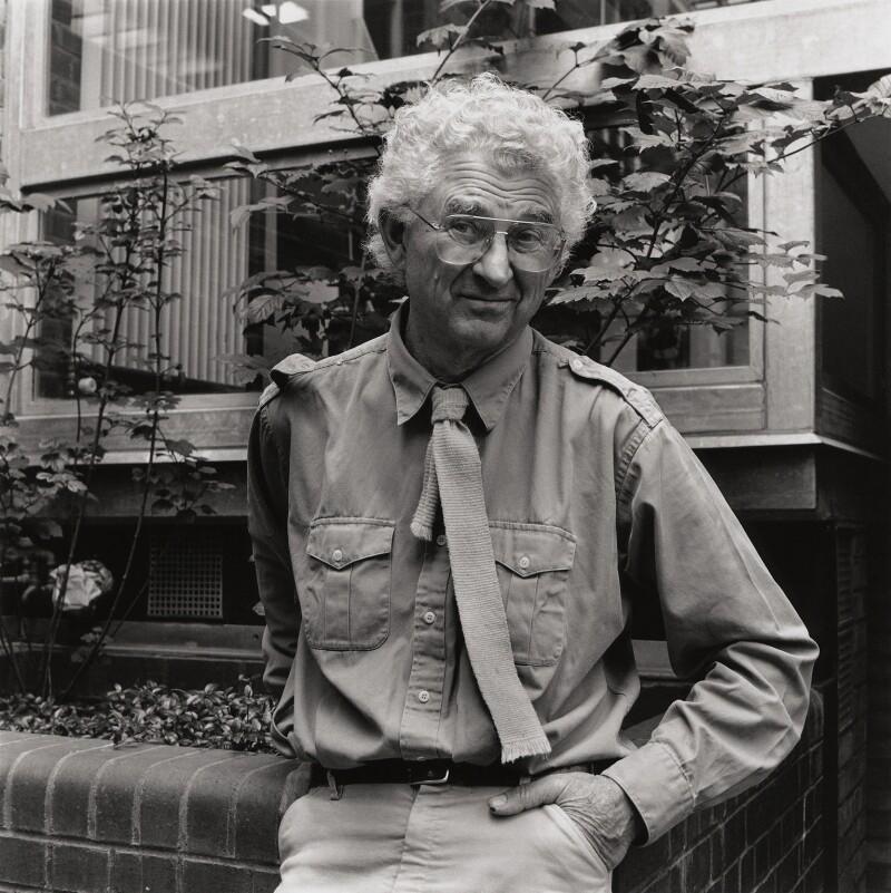 Theo Crosby, by George Newson, Summer 1992 - NPG x75726 - © George Newson / Lebrecht Music & Arts