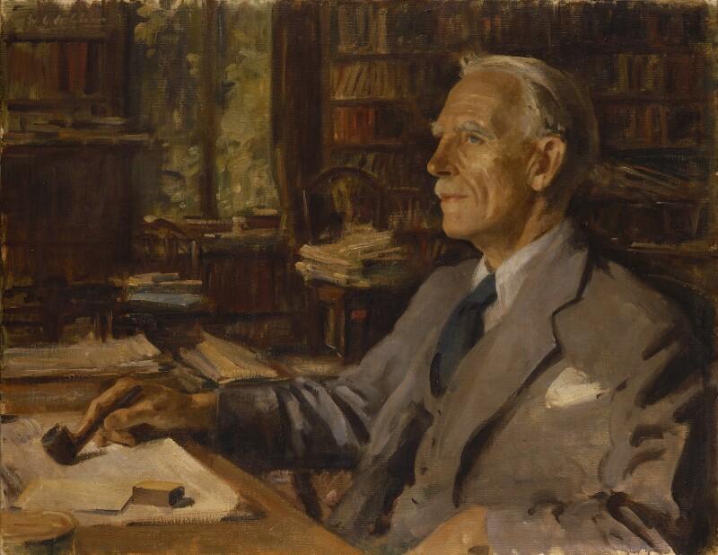 Sir Arthur George Tansley, by Wilfrid Gabriel de Glehn, 1940 - NPG 6737 - © reserved; collection National Portrait Gallery, London