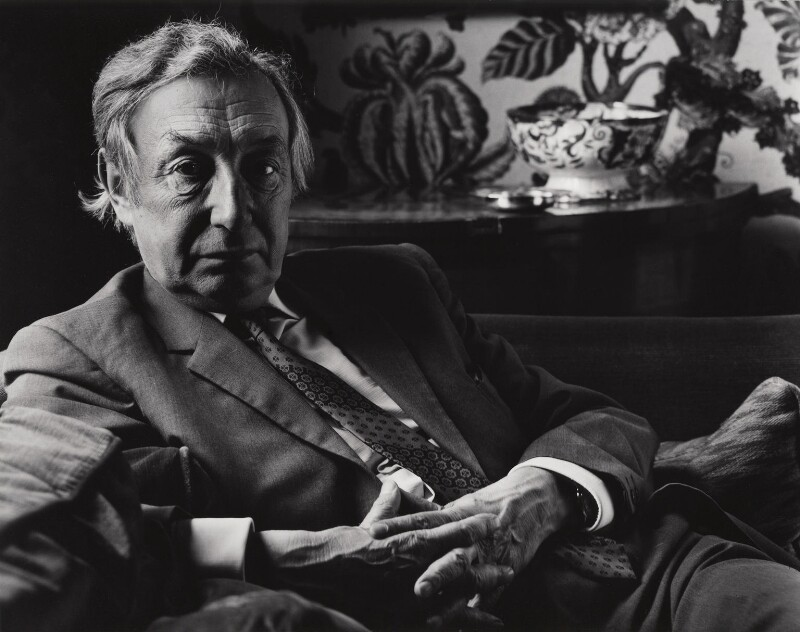 Sir Alfred Jules Ayer, by Paul Joyce, June 1975 - NPG x13402 - © Paul Joyce / National Portrait Gallery, London