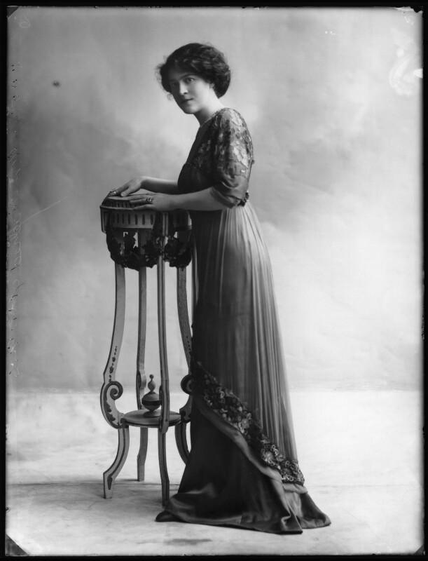 Katherine Kaelred, by Bassano Ltd, 27 March 1911 - NPG x103714 - © National Portrait Gallery, London