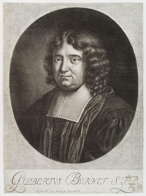Gilbert Burnet, by Jacob Gole, circa 1700-1725 - NPG D19758 - © National Portrait Gallery, London