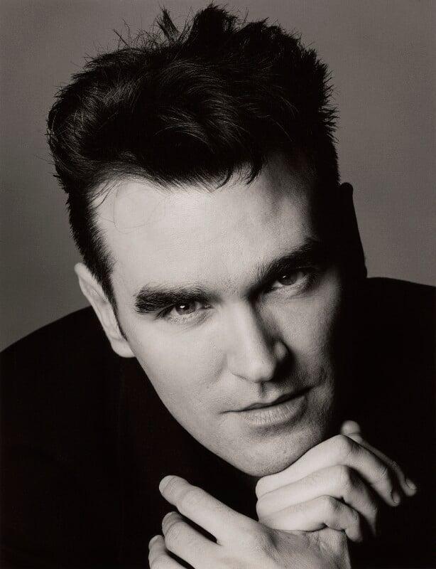 Morrissey, by Trevor Leighton, January 1989 - NPG x76320 - © Trevor Leighton / National Portrait Gallery, London