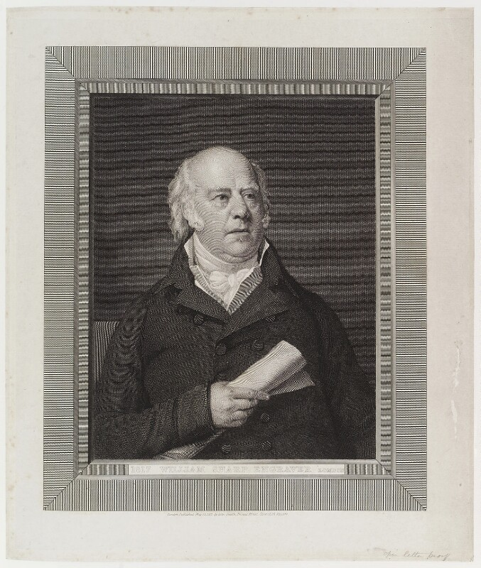 William Sharp, by William Sharp, published by  John Smith, after  George Francis Joseph, published 12 May 1817 - NPG D19802 - © National Portrait Gallery, London