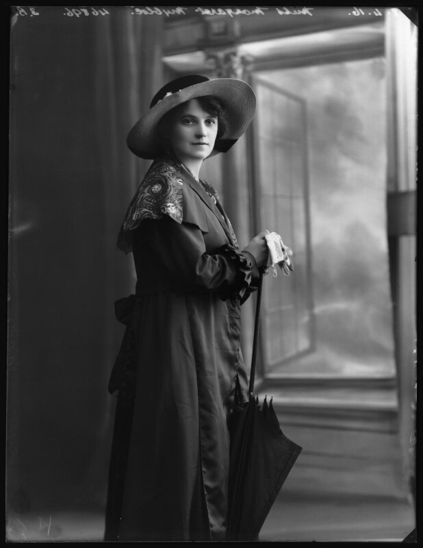 Margaret Nybloc, by Bassano Ltd, 8 April 1916 - NPG x103779 - © National Portrait Gallery, London