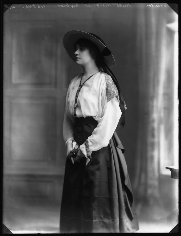 Margaret Nybloc, by Bassano Ltd, 8 April 1916 - NPG x103780 - © National Portrait Gallery, London
