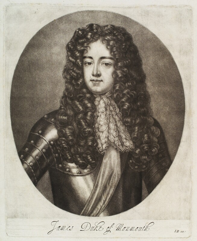 James Scott, Duke of Monmouth and Buccleuch, by Abraham Blooteling (Bloteling), after  Sir Peter Lely, circa 1660-1690 - NPG D19810 - © National Portrait Gallery, London