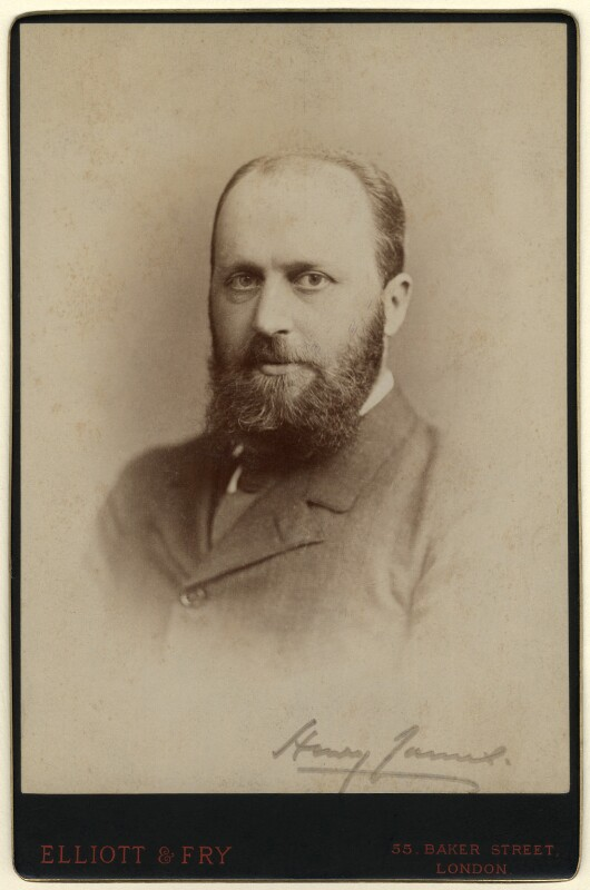Henry James, by Elliott & Fry, November 1884 - NPG x126742 - © National Portrait Gallery, London