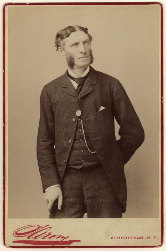 Matthew Arnold, by Napoleon Sarony, 1883 - NPG x126743 - © National Portrait Gallery, London