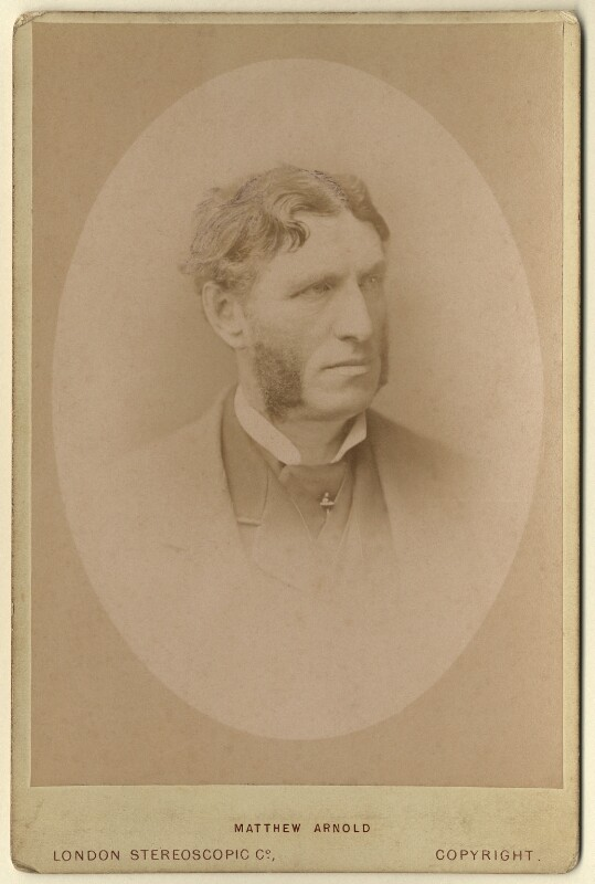 Matthew Arnold, by London Stereoscopic & Photographic Company, 1880s - NPG x126744 - © National Portrait Gallery, London