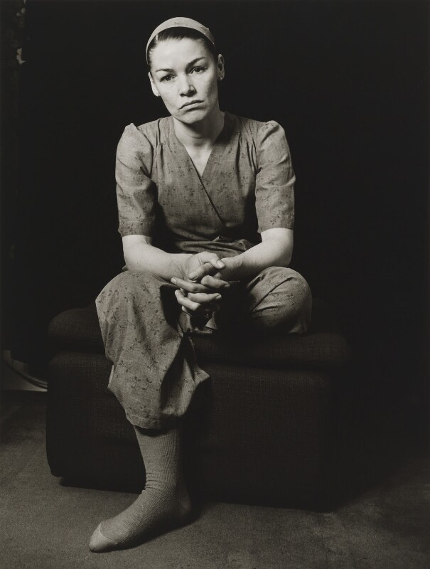 Glenda Jackson, by Mayotte Magnus, May 1977 - NPG x18618 - © Mayotte Lewinska