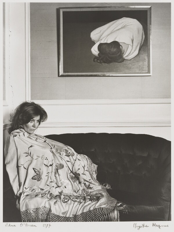 Edna O'Brien, by Mayotte Magnus, September 1976 - NPG x18630 - © Mayotte Lewinska