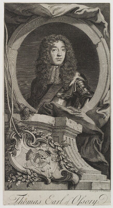 Thomas Butler, Earl of Ossory, by Simon François Ravenet, published 1736 - NPG D19873 - © National Portrait Gallery, London