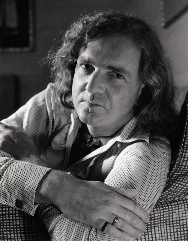 Sir John Kenneth Tavener, by Clive Barda, April 1977 - NPG x45147 - © Clive Barda