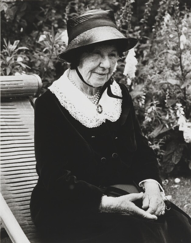 Dame Freya Madeline Stark, by Tara Heinemann, July 1980 - NPG x13757 - © Tara Heinemann