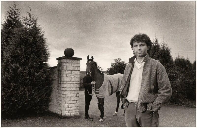 John Francome, by Miriam Reik, 1980s - NPG x30304 - © Miriam Reik