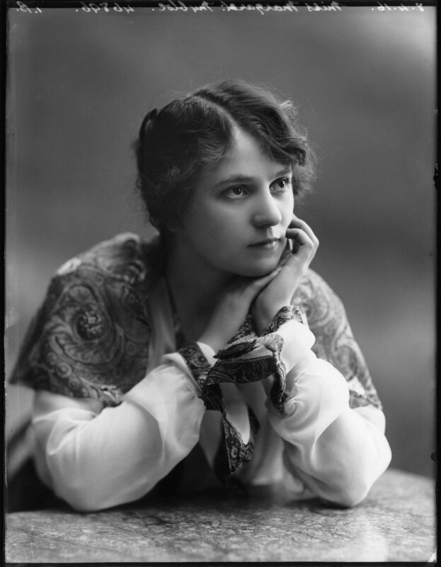 Margaret Nybloc, by Bassano Ltd, 8 April 1916 - NPG x103855 - © National Portrait Gallery, London
