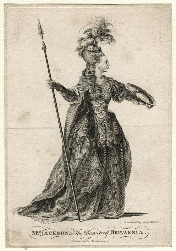 Mrs Jackson (née Browne), by T. Bonnor, published 1779 - NPG D16740 - © National Portrait Gallery, London
