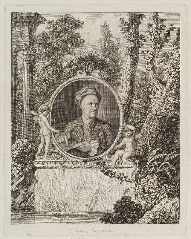 François Vivares, by François Vivares, and by  James Caldwall, published 1776 - NPG D19878 - © National Portrait Gallery, London