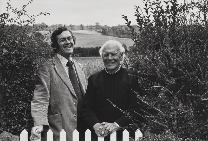 Richard Ingrams; Malcolm Muggeridge, by Jane Bown, 1977 - NPG x28623 - © Jane Bown