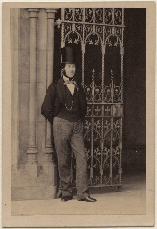 Lord Alfred Spencer-Churchill, by Camille Silvy, 1860 - NPG Ax16227 - © National Portrait Gallery, London