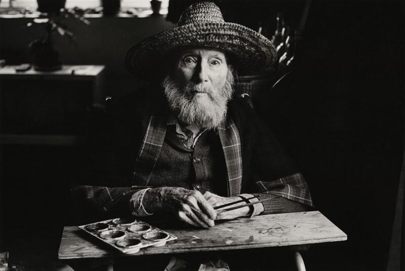 Duncan Grant, by Jane Bown, 1978 - NPG x28622 - © Jane Bown