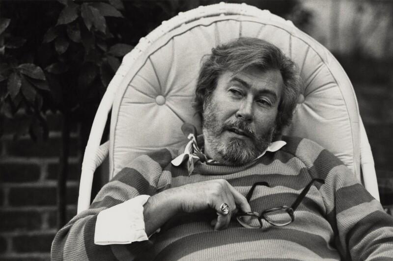John Osborne, by Jane Bown, 1979 - NPG x28629 - © Jane Bown
