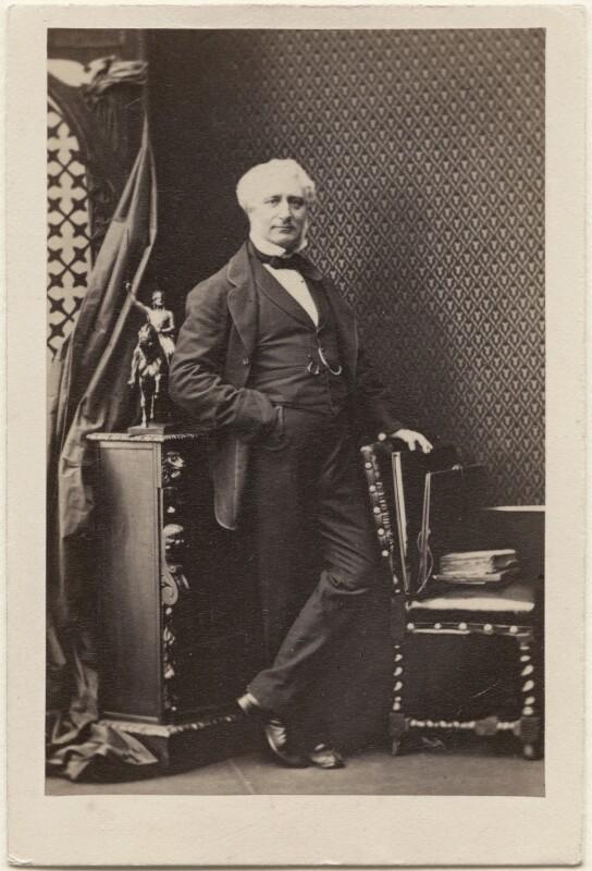 (Pietro) Carlo Giovanni Battista Marochetti, Baron Marochetti, by Camille Silvy, 31 March 1861 - NPG Ax11923 - © National Portrait Gallery, London