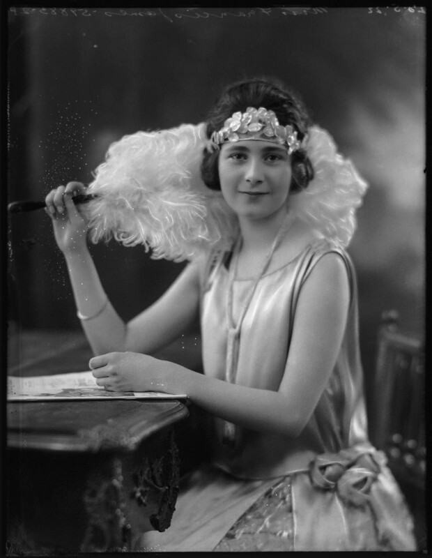Frances James, by Bassano Ltd, 25 May 1922 - NPG x103814 - © National Portrait Gallery, London