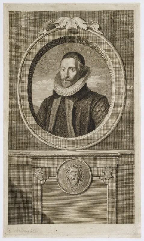Sir Francis Walsingham, by Pieter Stevens van Gunst, published 1697 - NPG D19905 - © National Portrait Gallery, London