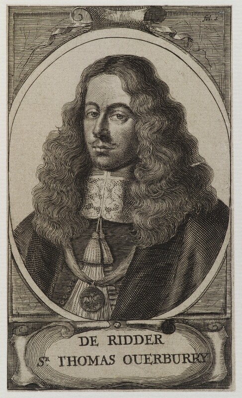 Called Sir Thomas Overbury, by Unknown engraver, 18th century? - NPG D19916 - © National Portrait Gallery, London