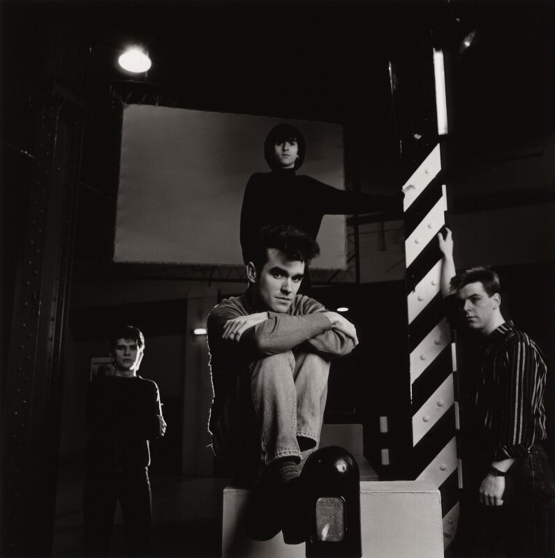 The Smiths (Mike Joyce; Morrissey; Johnny Marr; Andy Rourke), by Eric Watson, 1980s - NPG x87621 - © Eugene and Willa Watson / National Portrait Gallery, London