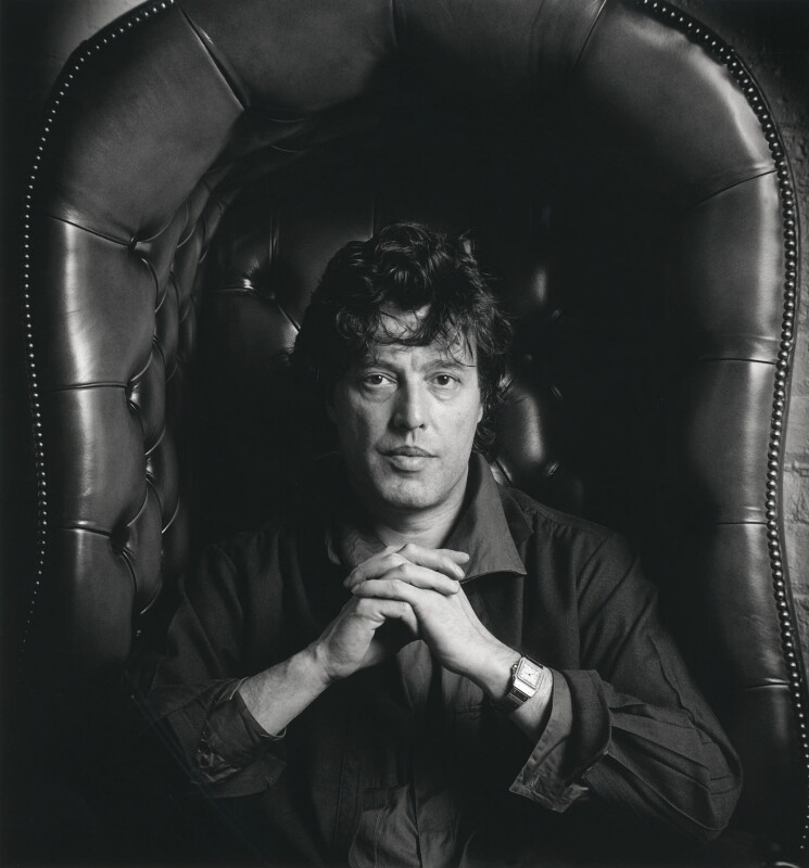 Tom Stoppard, by Granville Davies, May 1984 - NPG x23314 - © Granville Davies / National Portrait Gallery, London