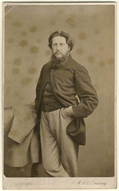 Ford Madox Brown, by W. & D. Downey, circa 1864 - NPG Ax7568 - © National Portrait Gallery, London