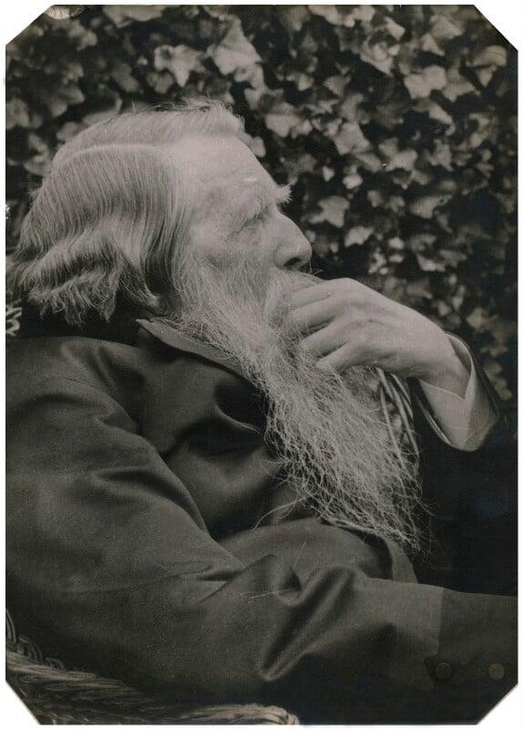John Ruskin, by Sarah Angelina Acland, 1 August 1893 - NPG x5588 - © National Portrait Gallery, London