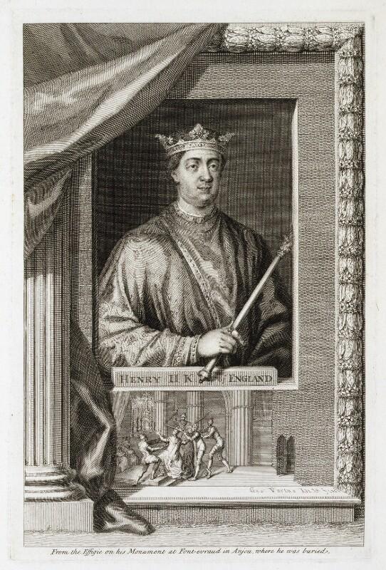 King Henry II, by George Vertue, engraved 1734 - NPG D20021 - © National Portrait Gallery, London