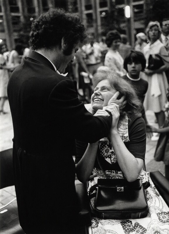 Daniel Barenboim; Jacqueline du Pré, by Clive Barda, 4 July 1976 - NPG x45154 - © Clive Barda