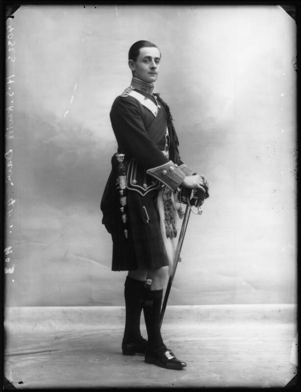 Hugh Somerset Kevill-Davies, by Bassano Ltd, 17 December 1910 - NPG x104107 - © National Portrait Gallery, London