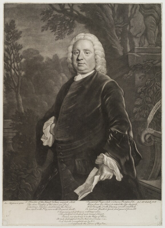 Samuel Richardson, by James Macardell, after  Joseph Highmore, (1750) - NPG D20083 - © National Portrait Gallery, London