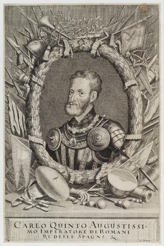 Charles V, Holy Roman Emperor, by Johann Alexander Böner, circa 1700-1720 - NPG D20090 - © National Portrait Gallery, London