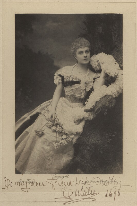 Infanta Eulalia of Spain, Duchess of Galliera, by Alice Hughes, 1898 - NPG x45049 - © National Portrait Gallery, London