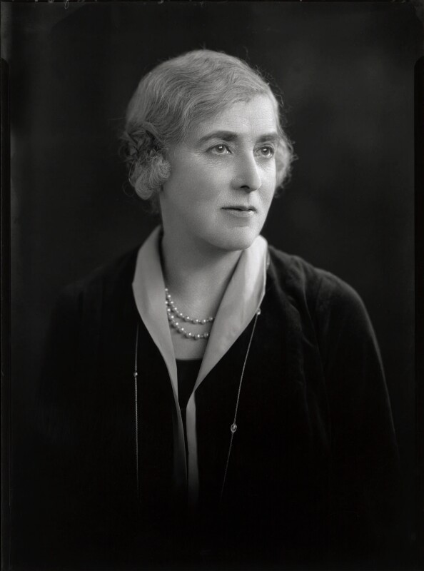 Helen Alexander Archdale (née Russell), by Lafayette, 3 February 1928 - NPG x42311 - © National Portrait Gallery, London