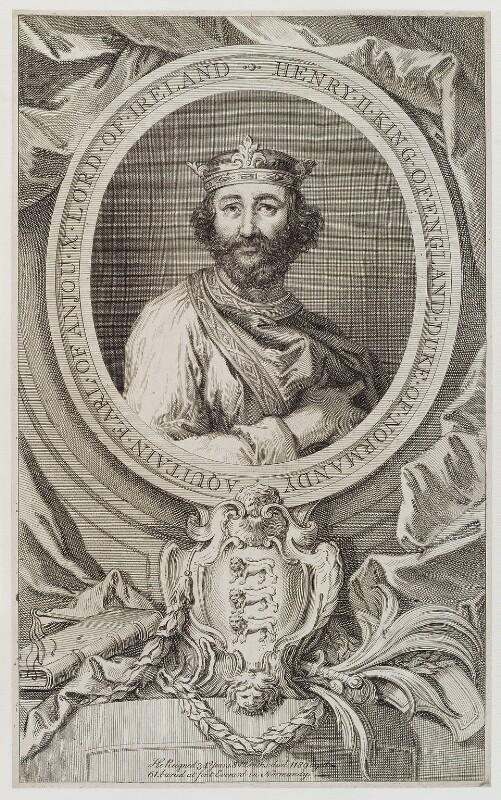 King Henry II, by Unknown artist, early 18th century - NPG D20195 - © National Portrait Gallery, London