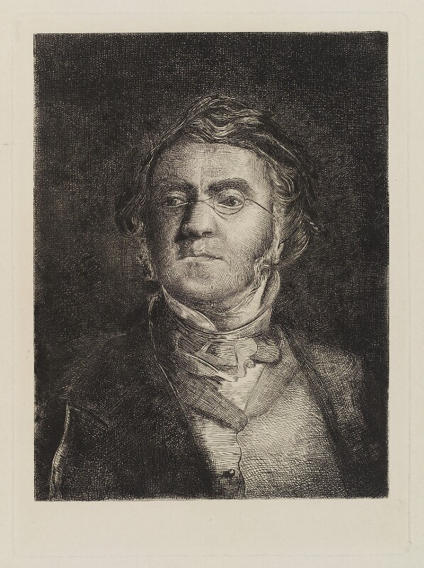 William Makepeace Thackeray, after Samuel Laurence, (1852) - NPG D20223 - © National Portrait Gallery, London