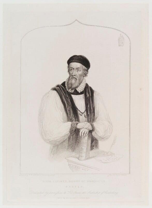 Hugh Latimer, by Henry Bryan Hall, published by  C. Birch, after  James Warren Childe, published May 1839 - NPG D20252 - © National Portrait Gallery, London