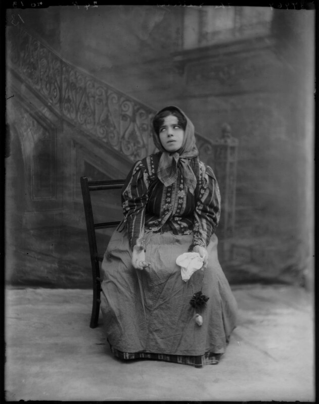 Mimi Aguglia-Ferrau as Iana in 'Malia', by Bassano Ltd, 1908 - NPG x104230 - © National Portrait Gallery, London