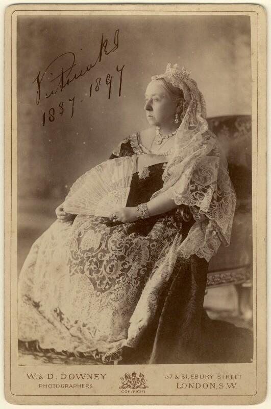 Queen Victoria, by W. & D. Downey, 1893 - NPG x12984 - © National Portrait Gallery, London
