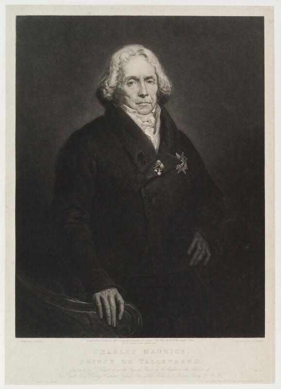 Npg D20287 Charles Maurice De Talleyrand Perigord Prince De