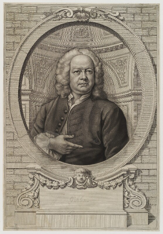 James Gibbs, by James Macardell, after  William Hogarth, circa 1750-1775 - NPG D20312 - © National Portrait Gallery, London