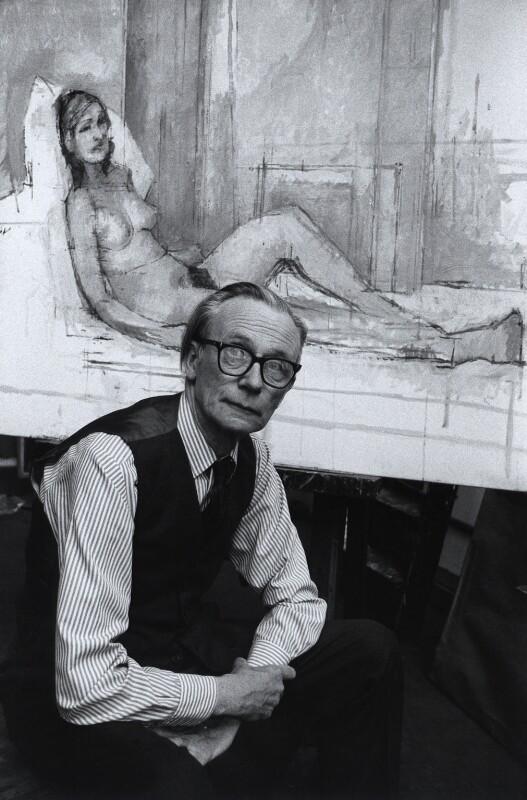Sir William Menzies Coldstream, by Harry Diamond, August 1975 - NPG x4117 - © National Portrait Gallery, London
