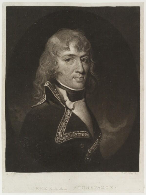 Napoléon Bonaparte, by Charles Howard Hodges, after  J.T. Rusca, circa 1800-1825 - NPG D20399 - © National Portrait Gallery, London